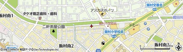 竹寿し周辺の地図