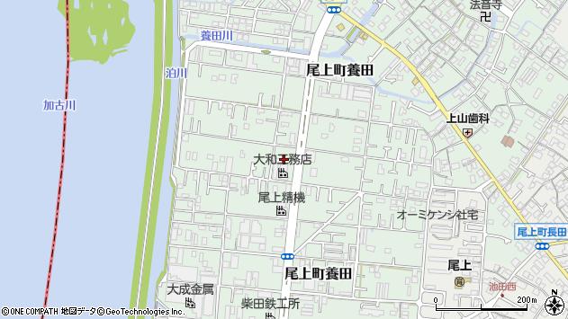 〒675-0025 兵庫県加古川市尾上町養田の地図