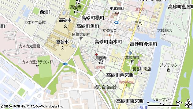 〒676-0054 兵庫県高砂市高砂町狩網町の地図