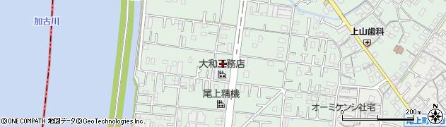 兵庫県加古川市尾上町養田周辺の地図