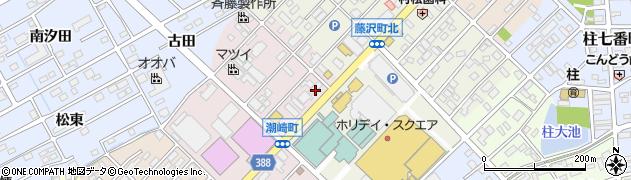 汐崎周辺の地図