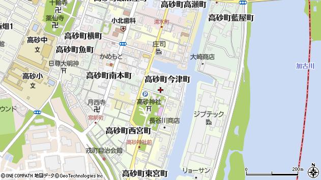 〒676-0049 兵庫県高砂市高砂町田町の地図