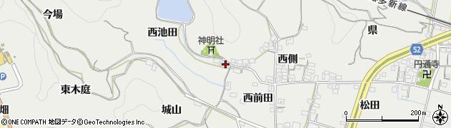 愛知県南知多町(知多郡)内海(風呂谷)周辺の地図