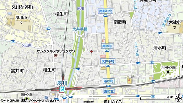 〒662-0036 兵庫県西宮市大井手町の地図
