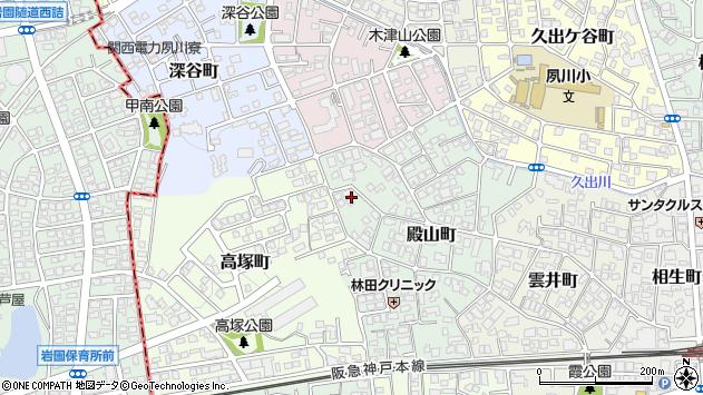〒662-0065 兵庫県西宮市殿山町の地図