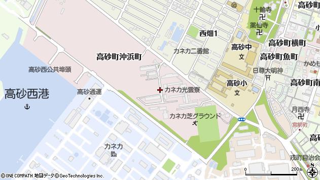 〒676-0026 兵庫県高砂市高砂町沖浜町の地図