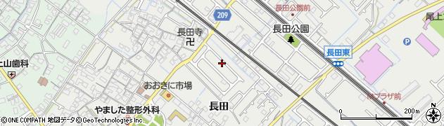 兵庫県加古川市尾上町(長田)周辺の地図