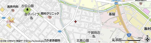 豊順周辺の地図