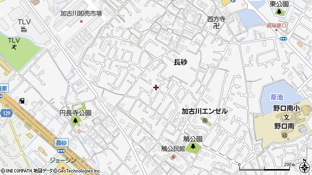 〒675-0016 兵庫県加古川市野口町長砂の地図