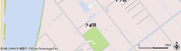 愛知県豊橋市神野新田町(クノ割)周辺の地図