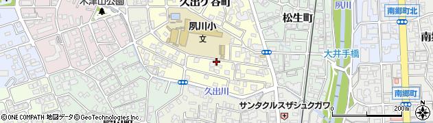 兵庫県西宮市久出ケ谷町周辺の地図