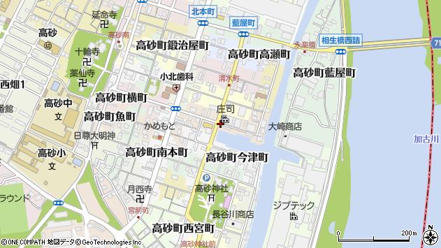 〒676-0033 兵庫県高砂市高砂町材木町の地図