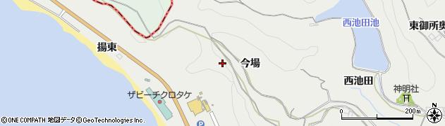 愛知県南知多町(知多郡)内海(西木庭)周辺の地図