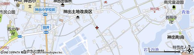 兵庫県神戸市西区神出町(南)周辺の地図