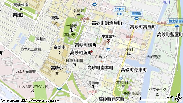 〒676-0052 兵庫県高砂市高砂町南渡海町の地図
