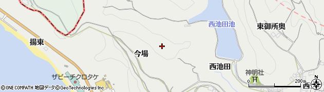 愛知県南知多町(知多郡)内海(今場)周辺の地図