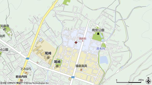 〒678-0211 兵庫県赤穂市南宮町の地図