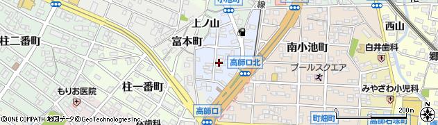 愛知県豊橋市福岡町周辺の地図