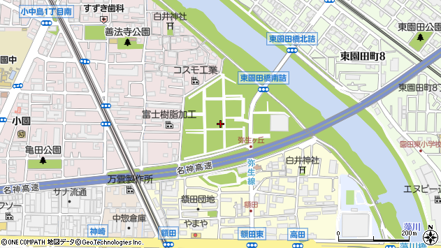 〒661-0970 兵庫県尼崎市弥生ケ丘町の地図