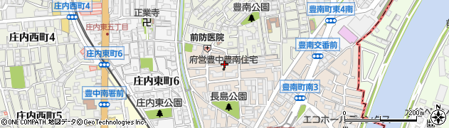 府営豊南住宅周辺の地図