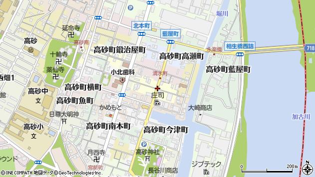 〒676-0034 兵庫県高砂市高砂町船頭町の地図