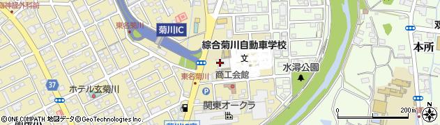 唐人1タス1 菊川店周辺の地図