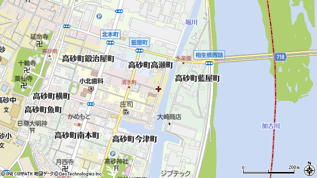 〒676-0032 兵庫県高砂市高砂町東浜町の地図