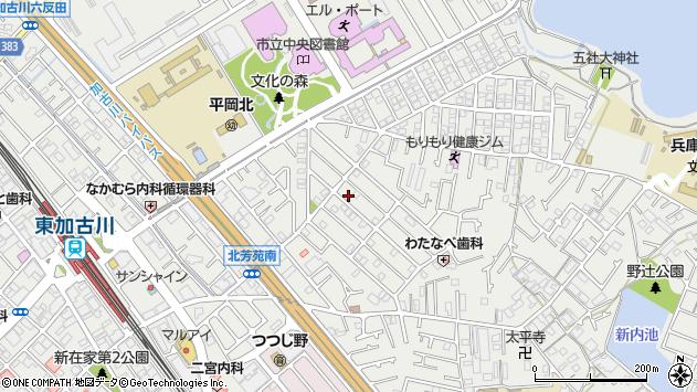 〒675-0101 兵庫県加古川市平岡町新在家の地図