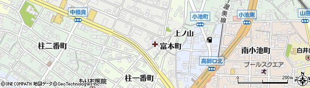 愛知県豊橋市橋良町(東郷)周辺の地図