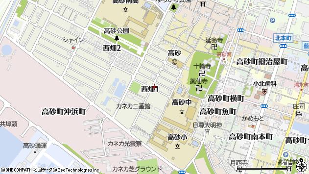〒676-0025 兵庫県高砂市西畑の地図
