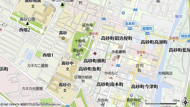 〒676-0065 兵庫県高砂市高砂町細工町の地図