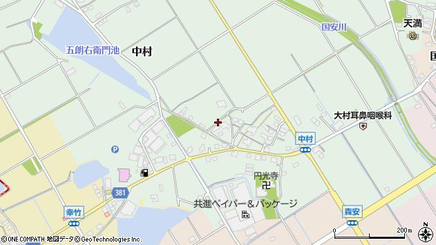 〒675-1122 兵庫県加古郡稲美町中村の地図