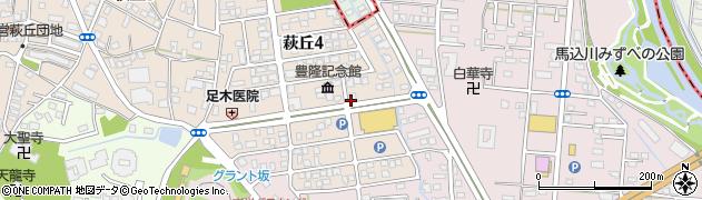 香車周辺の地図