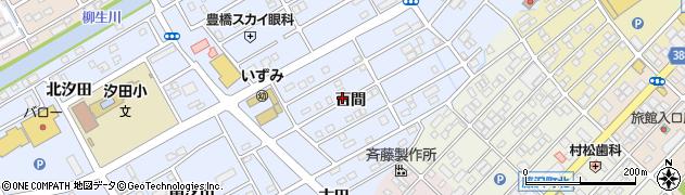 愛知県豊橋市牟呂町(百間)周辺の地図