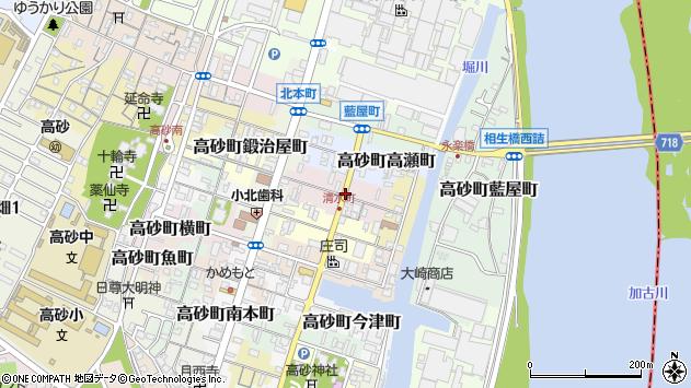 〒676-0035 兵庫県高砂市高砂町清水町の地図