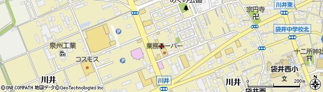 肉匠坂井 袋井店周辺の地図