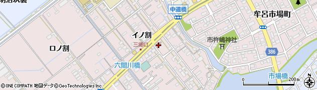 勢川牟呂店周辺の地図