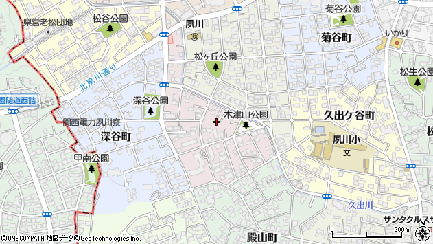 〒662-0062 兵庫県西宮市木津山町の地図