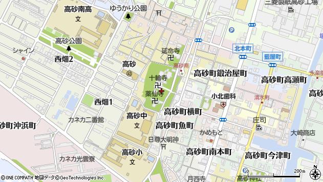 〒676-0051 兵庫県高砂市高砂町横町の地図