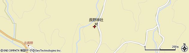 長野神社周辺の地図