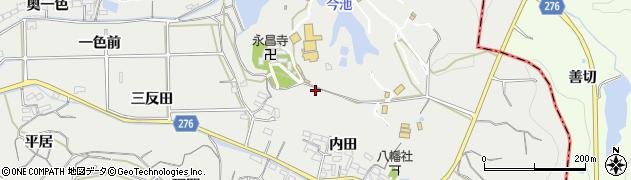 愛知県南知多町(知多郡)内海(打越)周辺の地図