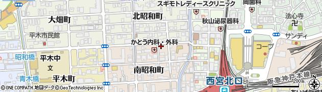 ピッコラ周辺の地図