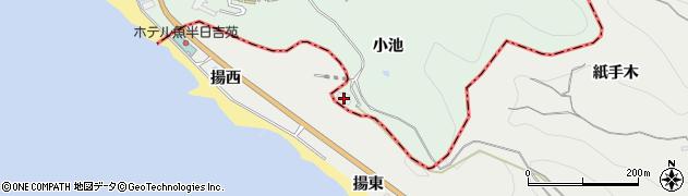 愛知県美浜町(知多郡)小野浦(小池)周辺の地図