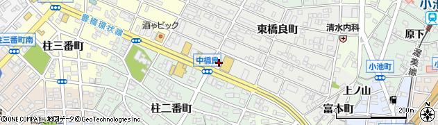 花梨周辺の地図