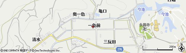 愛知県南知多町(知多郡)内海(一色前)周辺の地図