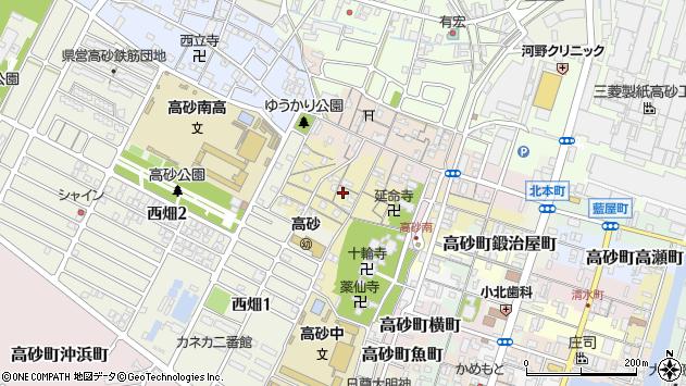 〒676-0066 兵庫県高砂市高砂町鍵町の地図