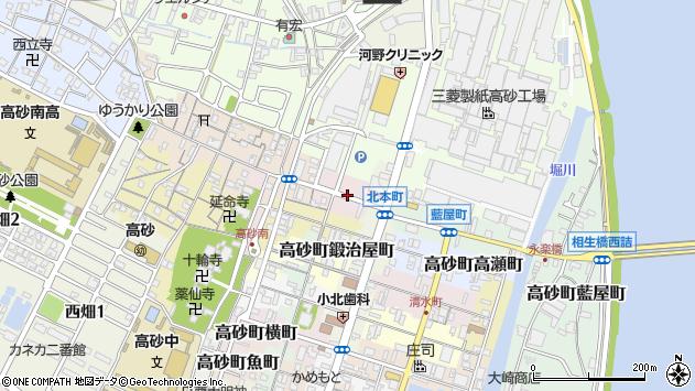 〒676-0067 兵庫県高砂市高砂町東農人町の地図