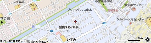 愛知県豊橋市牟呂町(大塚)周辺の地図