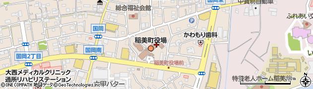 兵庫県加古郡稲美町周辺の地図