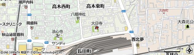 大日寺周辺の地図